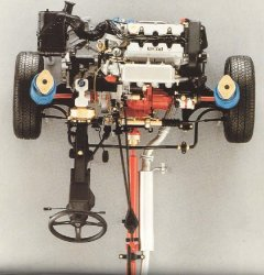 Lancia Delta 4WD - Μπροστά άξονας