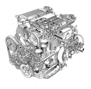 Ο 16v κινητήρας των 200bhp
