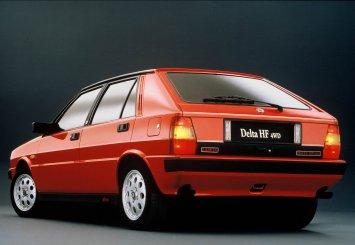 Lancia Delta 4WD - πίσω όψη
